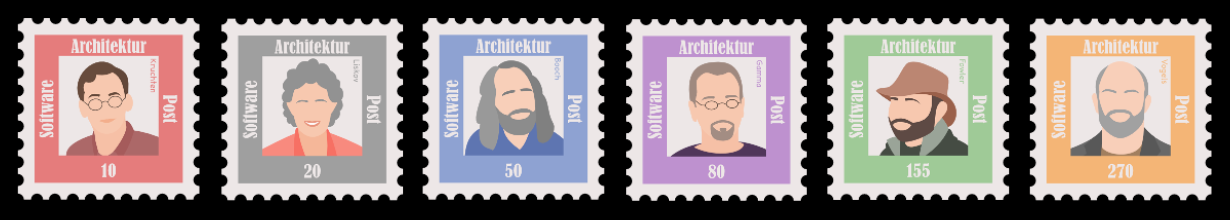 Briefmarken Softwarearchitektur